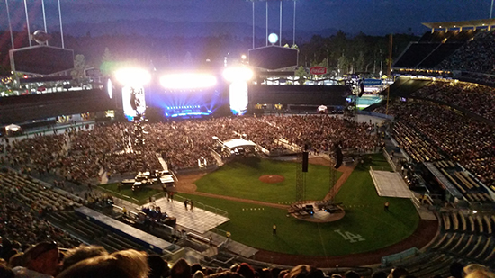 Dodger Stadium Concert Seating Chart