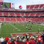 Levi's Stadium Sec 129 seat view