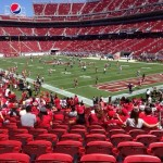 Levi's Stadium Sec 131 seat view