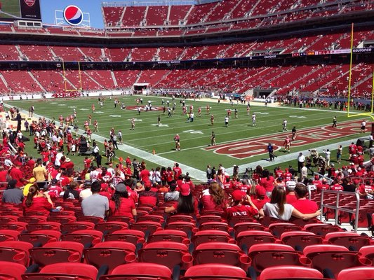 Levis Stadium Guide Seating Chart Reviews