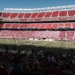 Levi's Stadium Sec 135 seat view