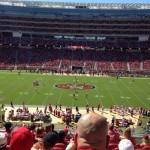Levi's Stadium Sec 216 seat view