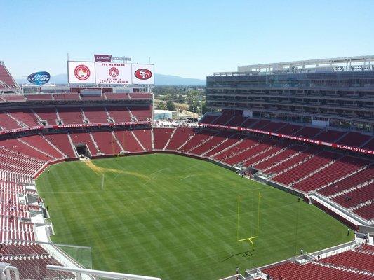 Levi's Stadium sec 401 seat view
