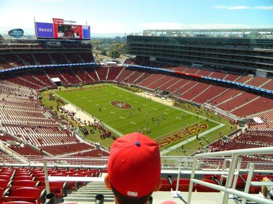 Levi's Stadium sec 403 seat view