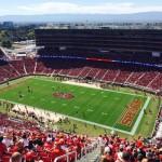 Levi's Stadium sec 406 seat view