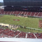 Levi's Stadium sec 408 seat view