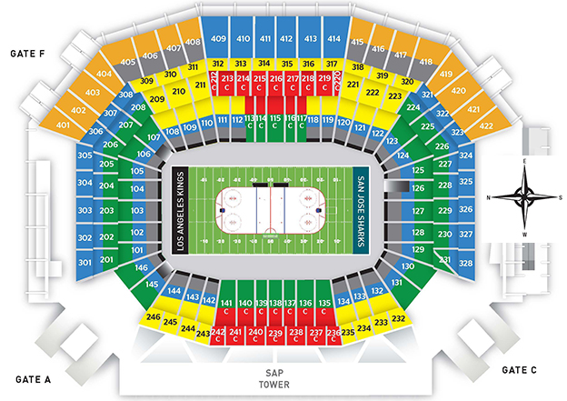 levi s stadium guide seating chart reviews