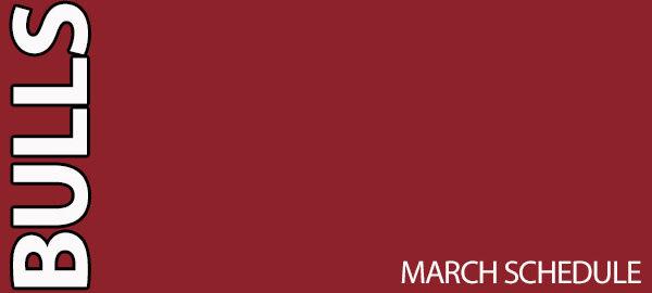 Chicago Bulls March Schedule