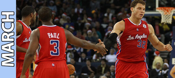 Los Angeles Clippers March Schedule 2015