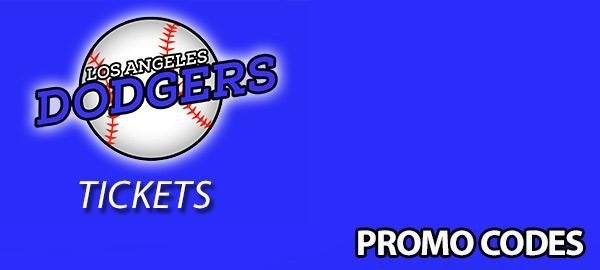 Los Angeles Dodgers Tickets Promo Code