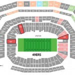 49ers Levis Stadium Seating Chart