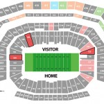 Super Bowl Seating Chart Levis Stadium