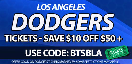 los angeles dodgers promo code