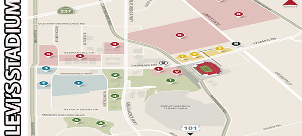 Levi's Stadium Parking Where to Park For Your Event