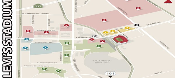 Levi's Stadium Parking for events
