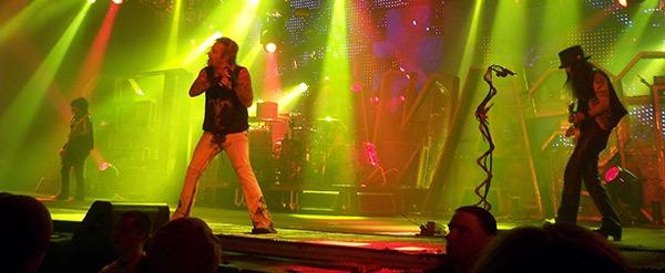 "Motley Crue Setlist for their ""Final Tour"""