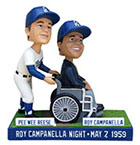 Pee Wee Reese Roy Campanella Night bobblehead
