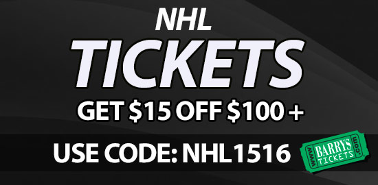 NHL Tickets discount code