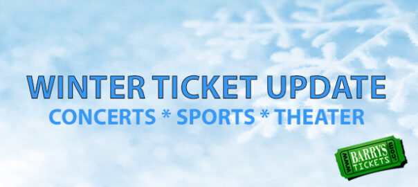 Los Angeles Winter Ticket Update