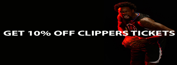 Get 10% off Los Angeles Clippers Basketball Game Tickets