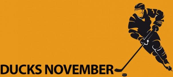 Ducks November Schedule of games