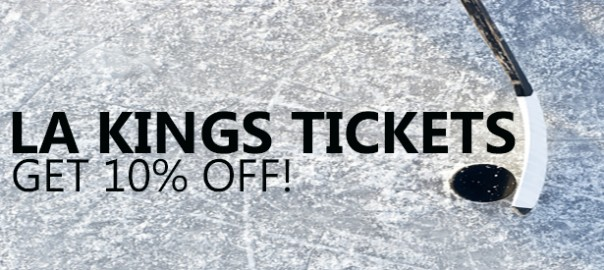 LA Kings Game Tickets Discount Code