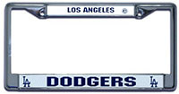la dodgers license plate frame
