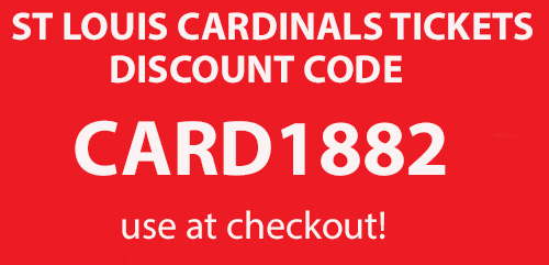 cardinals tickets promo code