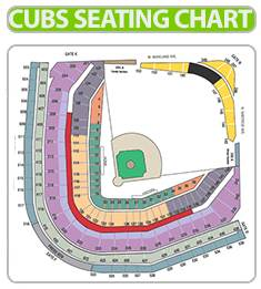 Chicago Cubs Seating Chart