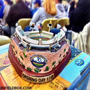 dodger stadium mini replica