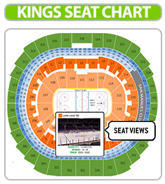 la kings seating