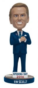 Vin Scully Bobblehead Giveaway