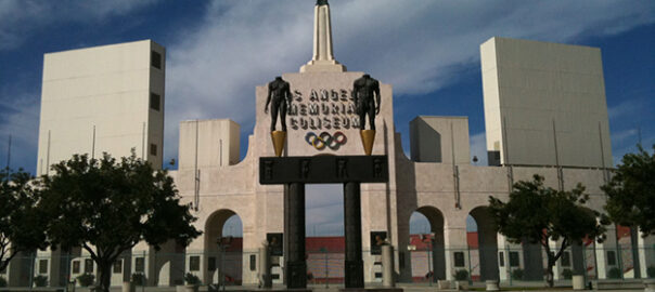 LA Coliseum Seat View Seating Chart