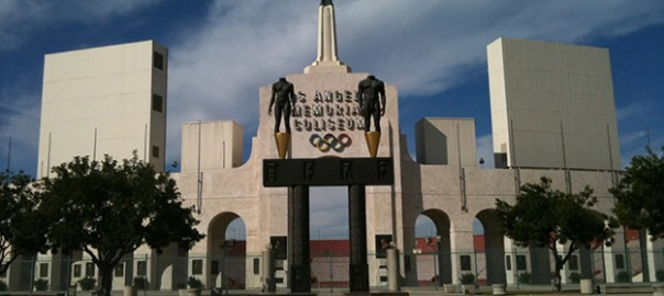 LA Coliseum Seat View football
