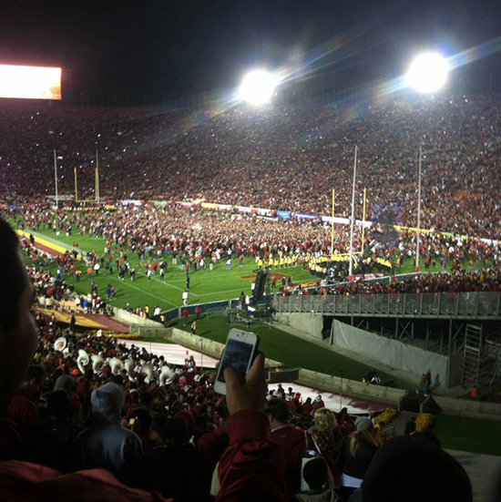 LA Coliseum Section 1 seating