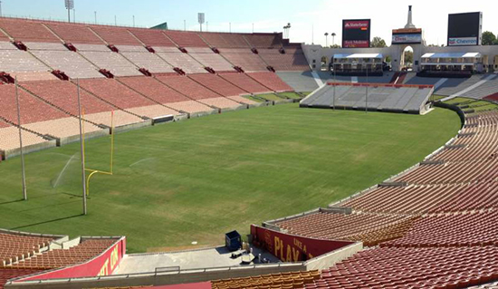 LA Coliseum section 12 seating