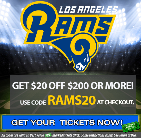 Rams Tickets Promo Code