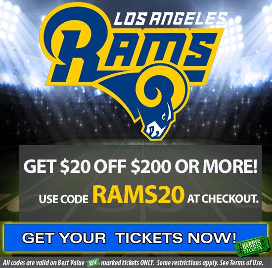 Rams Tickets Promo Code