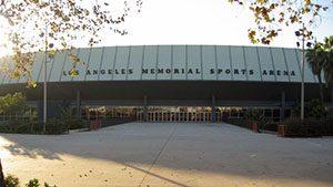 Los Angeles Memorial Sports Arena-lakers