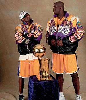 Kobe-Shaq Lakers title