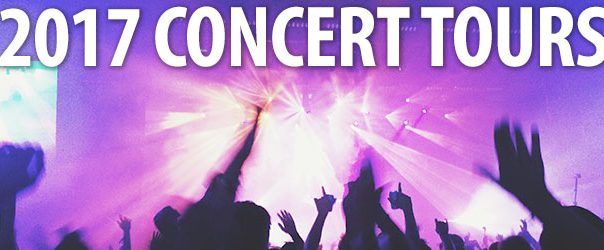 2017 Upcoming Concert Tours