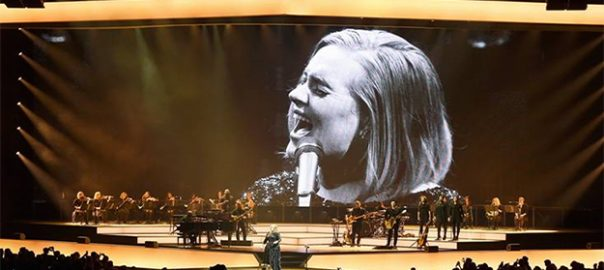 adele seating live set list
