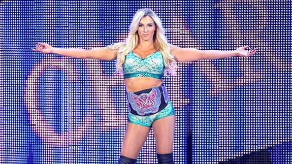 Charlotte WWE Monday Night Raw Staples Center
