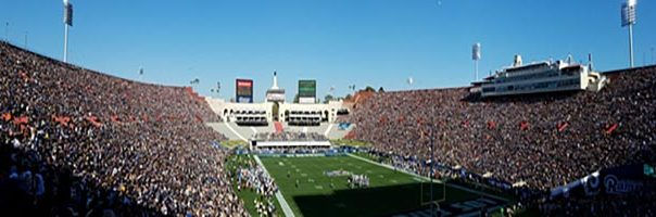 LA Coliseum Seat View Football game