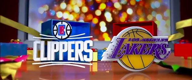 Lakers - Clippers Tickets Christmas Day 12/25/2016