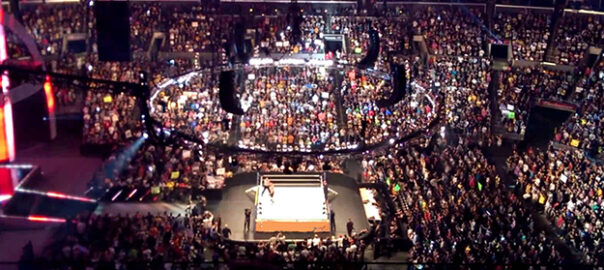 10 WWE Super Stars at Staples Center for Monday Night Raw