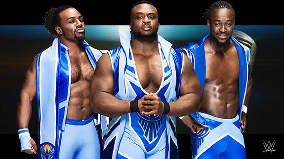 New Day WWE Monday Night Raw Staples Center