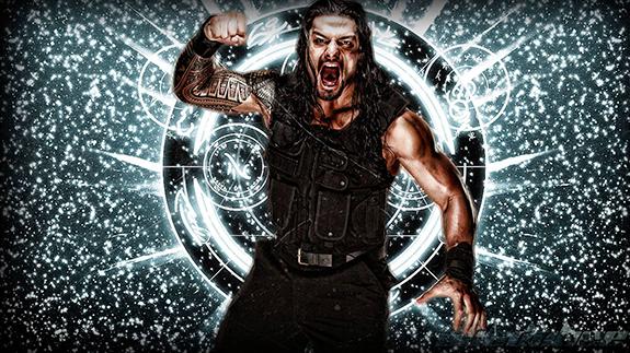 Roman Reigns WWE Monday Night Raw Staples Center