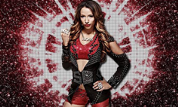 Sasha Banks WWE Monday Night Raw Staples Centerr