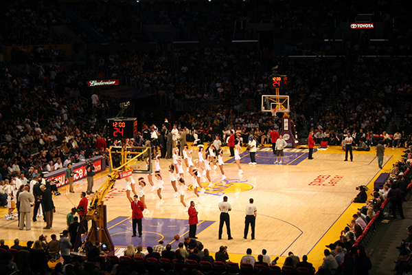 Los Angeles Lakers Staples Center events 2017